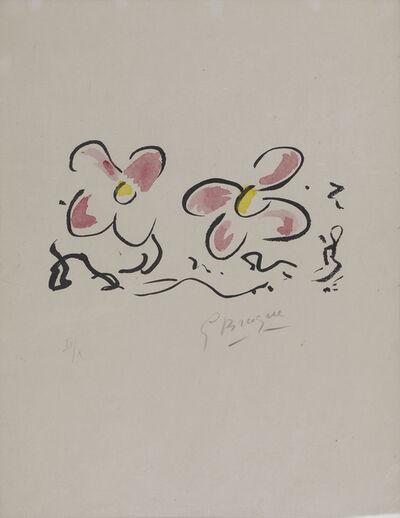 Georges Braque, 'Si Je Mourais La-Bas'