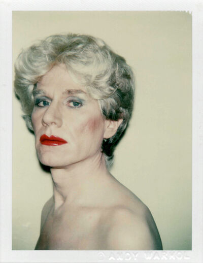 Andy Warhol, 'Self-Portrait in Drag', 1981