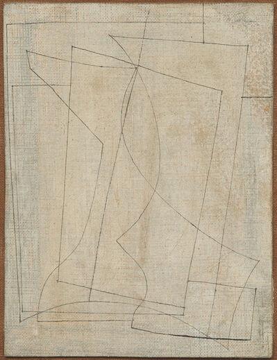 Ben Nicholson, 'March 1955 (Goblet and vase)', 1955