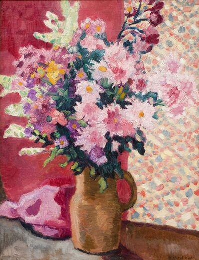 Louis Valtat, 'Fleurs Roses au Pichet en Terre   ', c.1933