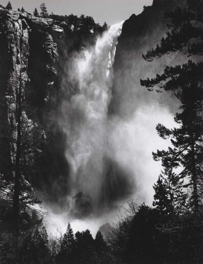 Ansel Adams, 'Bridalveil Fall, Yosemite, 1927', 1927