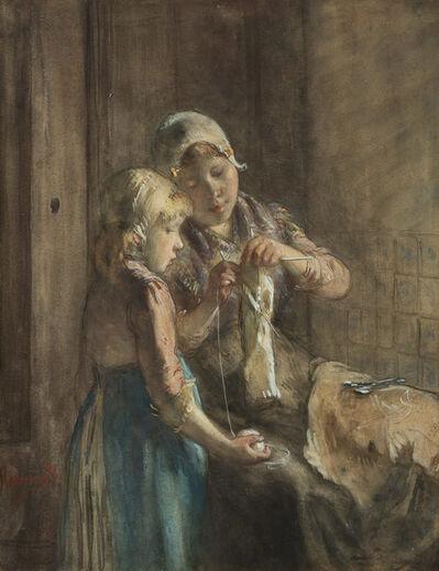 Bernardus Johannes Blommers, 'The First Lesson'