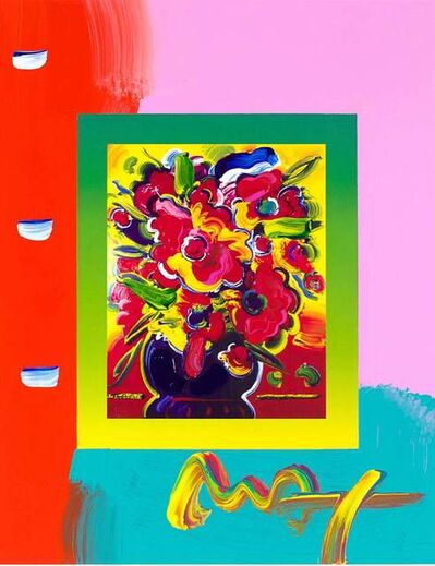Peter Max, 'Vase Of Flowers On Blends', 2007
