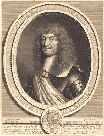 Robert Nanteuil, 'Marcechal de Cequi', 1662