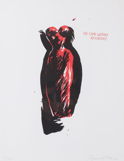 Raymond Pettibon, 'Untitled (She Came Within Bloodshot)', 1990