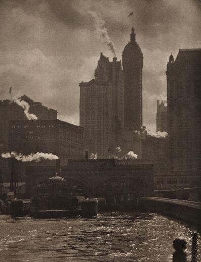 Alfred Stieglitz, 'The City of Ambition', 1910