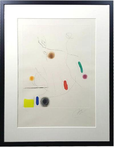 Joan Miró, 'Grave sur le givre I', 1972