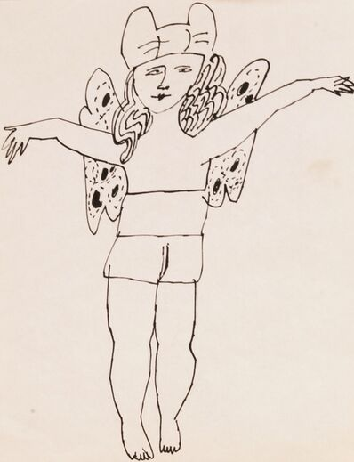 Andy Warhol, 'Untitled (Fairy Arms Outstretched)', ca. 1954