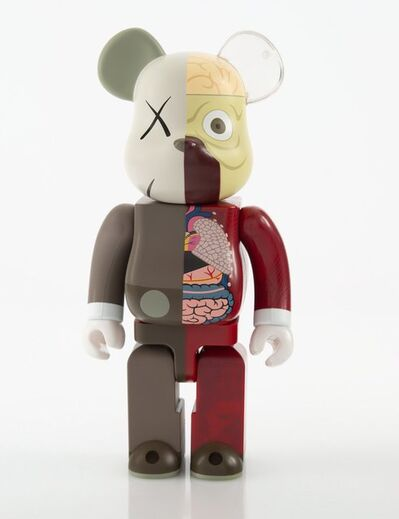 KAWS X BE@RBRICK, 'Dissected Companion 400%', 2008