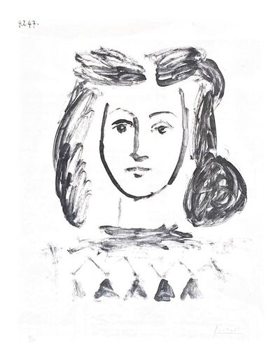 Pablo Picasso, 'Bust of a Young Girl', 1947