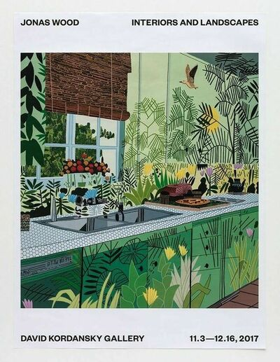 Jonas Wood, 'Interiors And Landscapes ', 2017