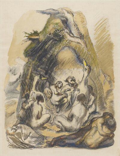 Ludwig Meidner, 'In der Urzeit', 1943