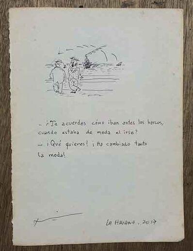 Jose Toirac, 'al vaiven de las olas', 2017