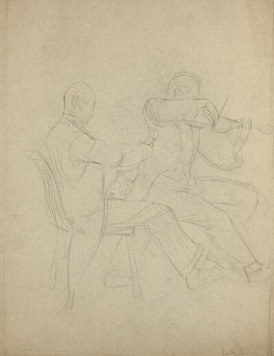 Jack Levine, 'Musicians', 1932