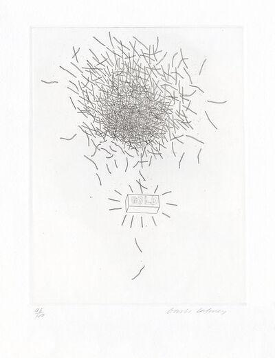David Hockney, 'Gold', 1969