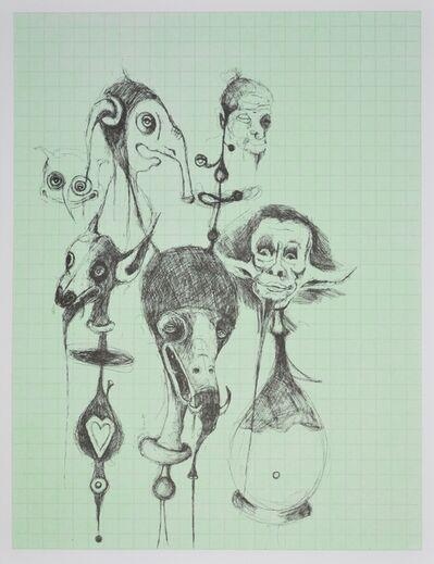 Gert & Uwe Tobias, 'Untitled I character scetch (Ohne Titel I Figurenskizze)', 2000-2010