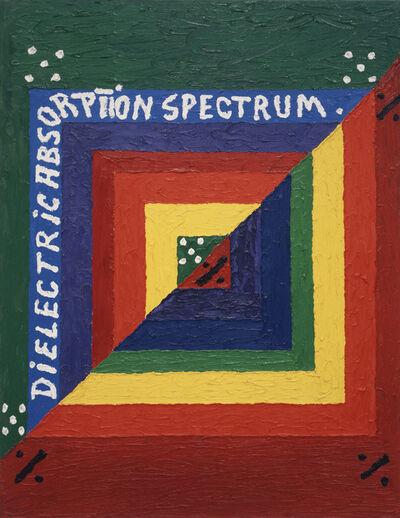 Alfred Jensen, 'Dielectric Absorption Spectrum, Per. II', 1975