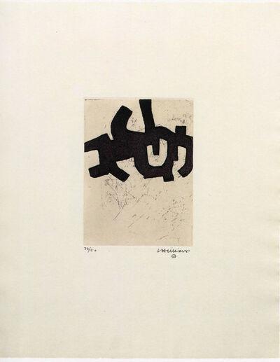 Eduardo Chillida, 'Hatz IV', 1968