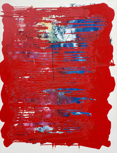 Marcel Kahhak, 'Abstract/Red Drips', ca. 2010