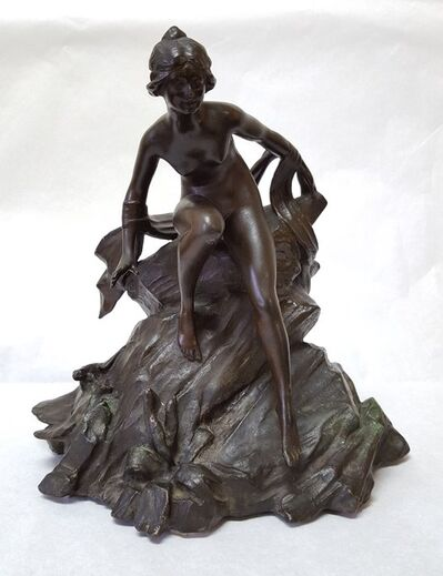 Alphonse Mucha, 'Water Nymph', ca. 1890