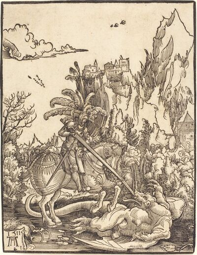 Albrecht Altdorfer, 'Saint George Slaying the Dragon', 1511