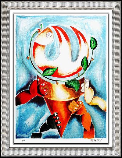 Alexandra Nechita, 'Alexandra Nechita Color Lithograph Original SIGNED Large Petite Picasso Artwork', 1996