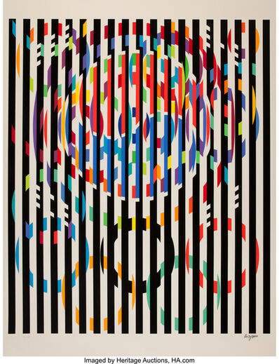 Yaacov Agam, 'Message of Peace', 1988