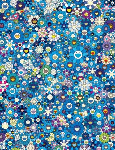 Takashi Murakami, 'An Homage to IKB 1957 F (Blue)', 2020