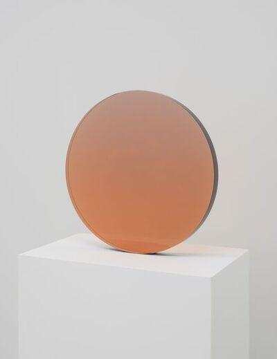 De Wain Valentine, 'Circle Sepia-Violet', 1970