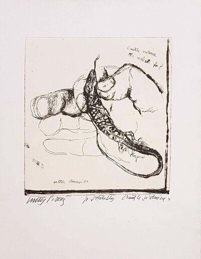 Walter Piacesi, 'Unnecessary Violence', 1970