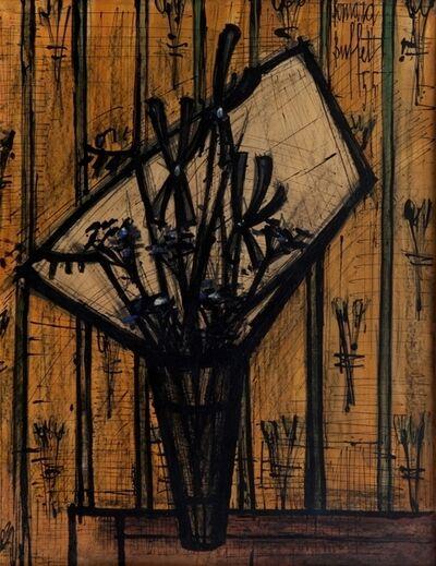 Bernard Buffet, 'Bouquet d'iris', 1955