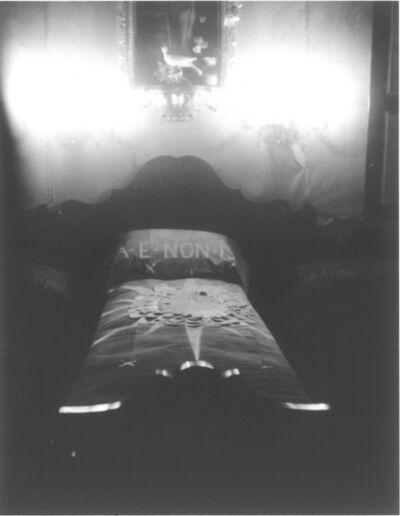 Patti Smith, 'Gabriele D'Annunzio's bed, Brescia', 2015