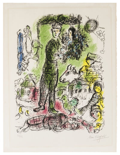 Marc Chagall, 'Le Grand Paysan', 1968