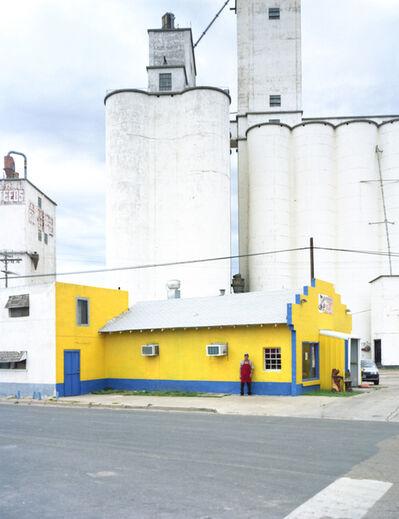 Peter Brown, 'North Texas: Grain elevators, Pastor Lopez, Michoacana restaurant', 2010