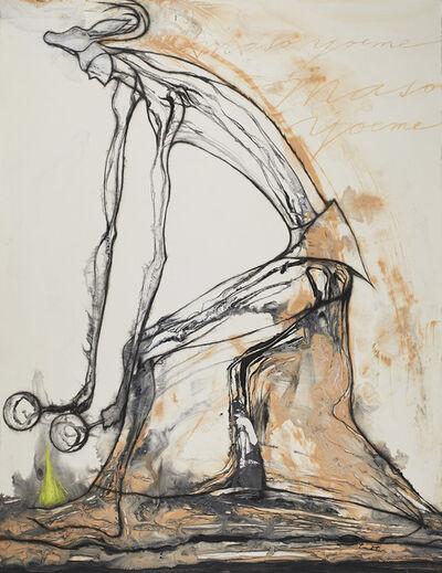 José Bedia, 'Maso Yoeme', 2007