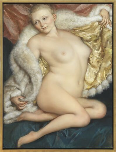 John Currin, 'The Old Fur', 2010