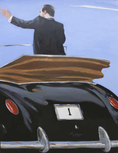 Julio Larraz, 'Our Public Servant', 2010