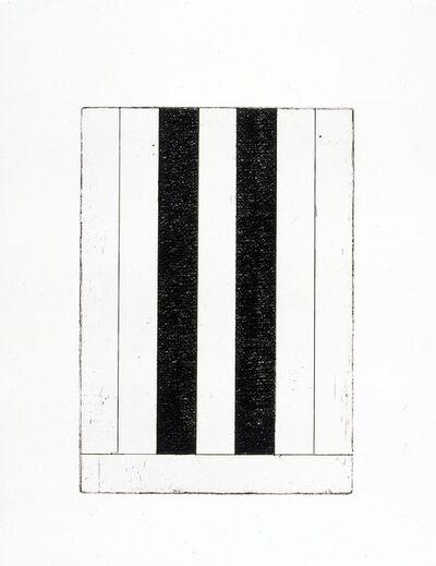 Brice Marden, '12 Views for Caroline Tatyana (F)', 1977-1979