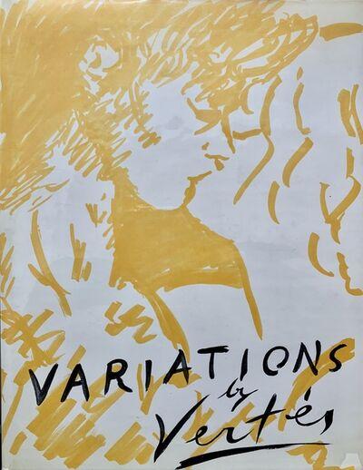 Marcel Vertes, 'Variations by Vertes', 1961
