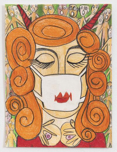 Rebecca Goyette, 'Mask On, Tits Up!', 2020