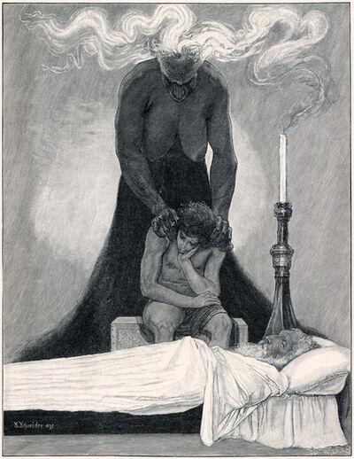 Sascha Schneider, 'Der Gram', 1894-1895