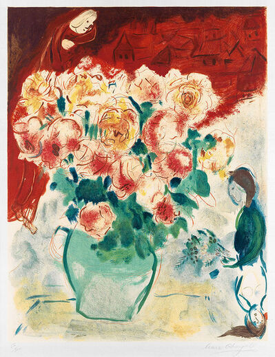 Marc Chagall, 'Le Bouquet (The Bouquet)', 1955