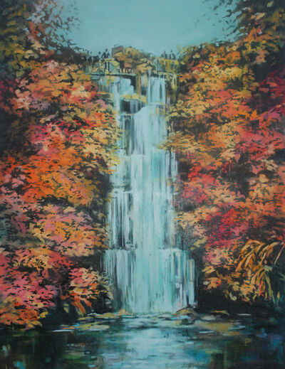 Annette Pugh, 'Waterfall (Roundhay) ', 2019