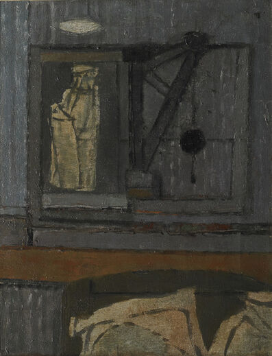 Prunella Clough, 'Warehouse Crane', ca. 1952