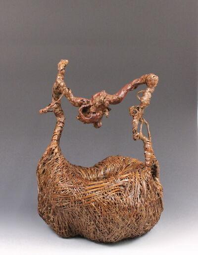 Nagakura Kenichi, 'Bent Root Basket', 2014