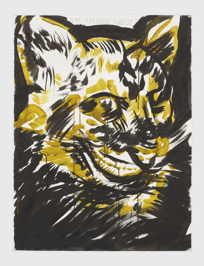 "Raymond Pettibon, 'No Title (Say ""Cheshire cheese"")', 2019"