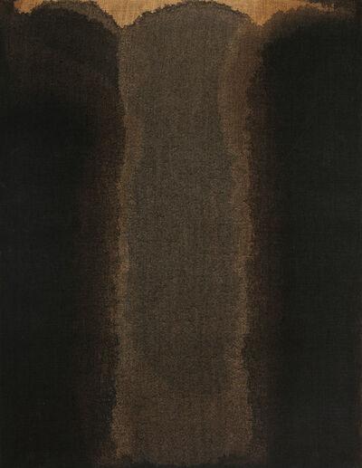 Yun Hyong-keun, 'Umber-Blue', 1975