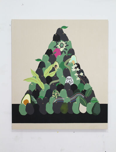 Stephen D'Onofrio, 'Still Life with Avocados (stack)', 2019