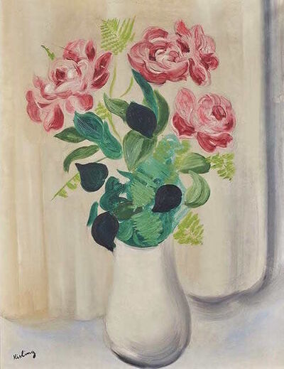 Moise Kisling, 'Bouquet de fleurs', ca. 1925