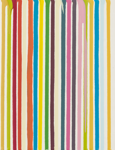 Ian Davenport, 'Poured Lines', 2003-2004